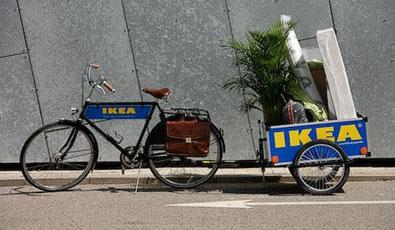 IKEA goes biking (Denmark)   Eltis