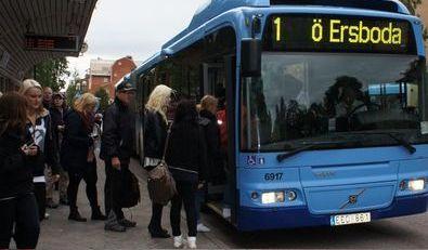 Test traveller activity in the city of Umeå  Sweden   Eltis