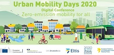 Image link to information about Urban Mobility Days 2020 Digital Conference