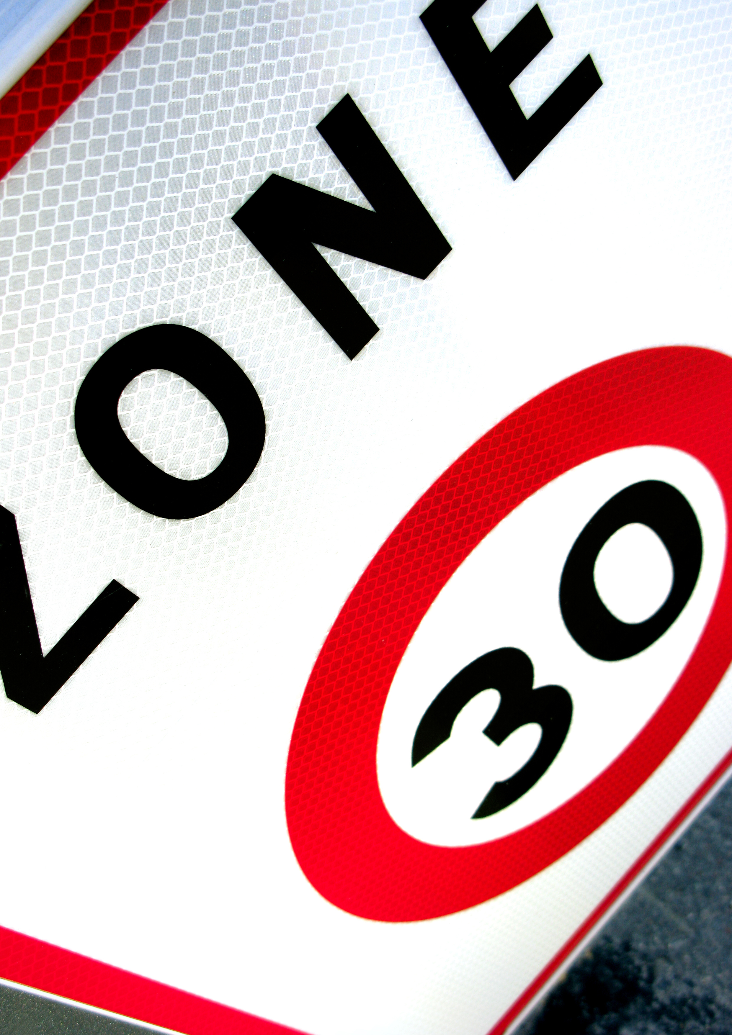 30 km/hour zone sign