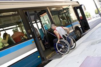public transport is 100 accessible to disabled in grenoble france eltis. Black Bedroom Furniture Sets. Home Design Ideas