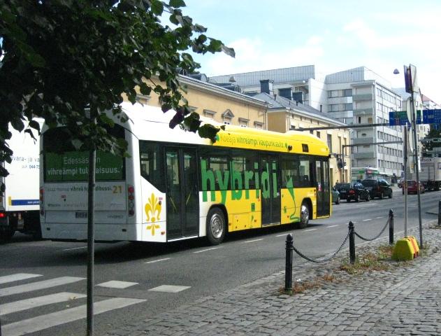 Attempt on City Bus in Karlskrona heading for failure (Sweden)   Eltis