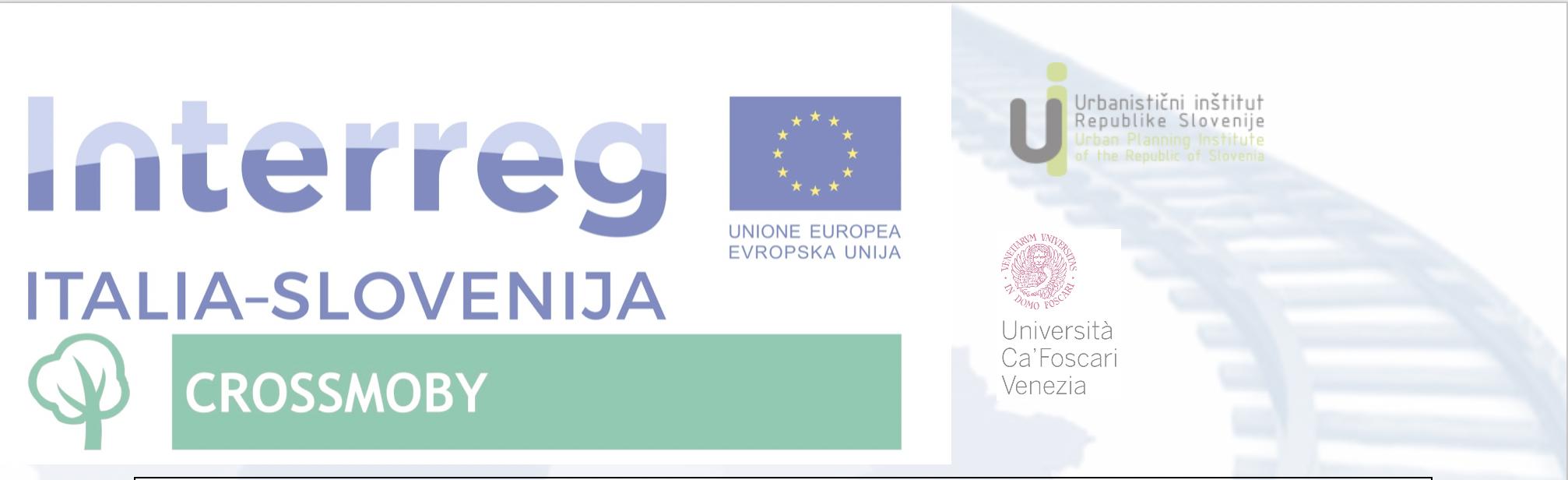Crossmoby project - Interreg V-A Italija-Slovenija 2014-2020