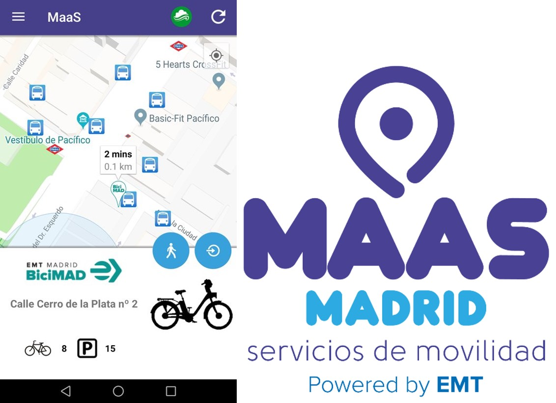 New MaaS app for Madrid