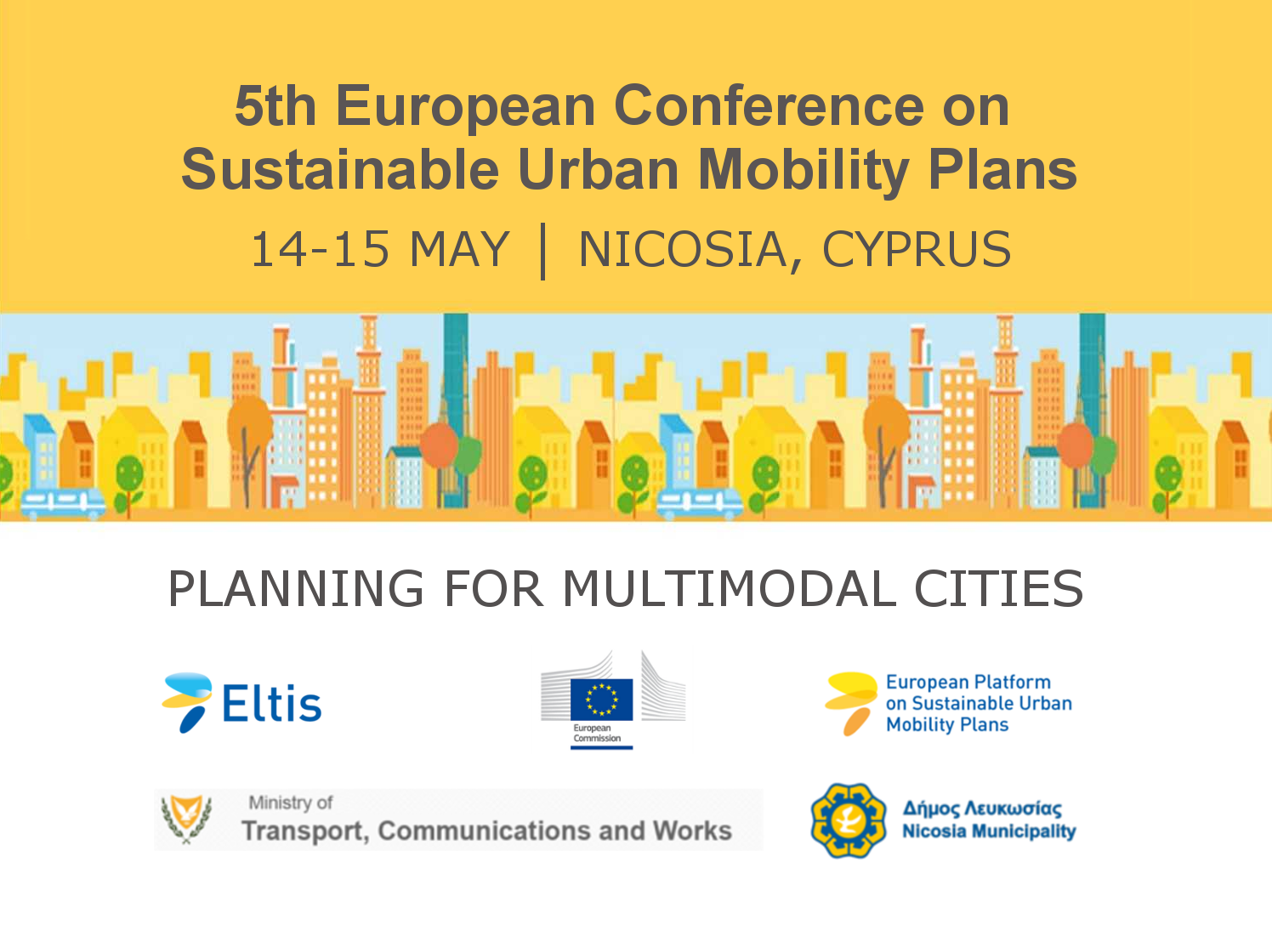 5th European Conference on Sustainable Urban Mobility Plans (SUMPs