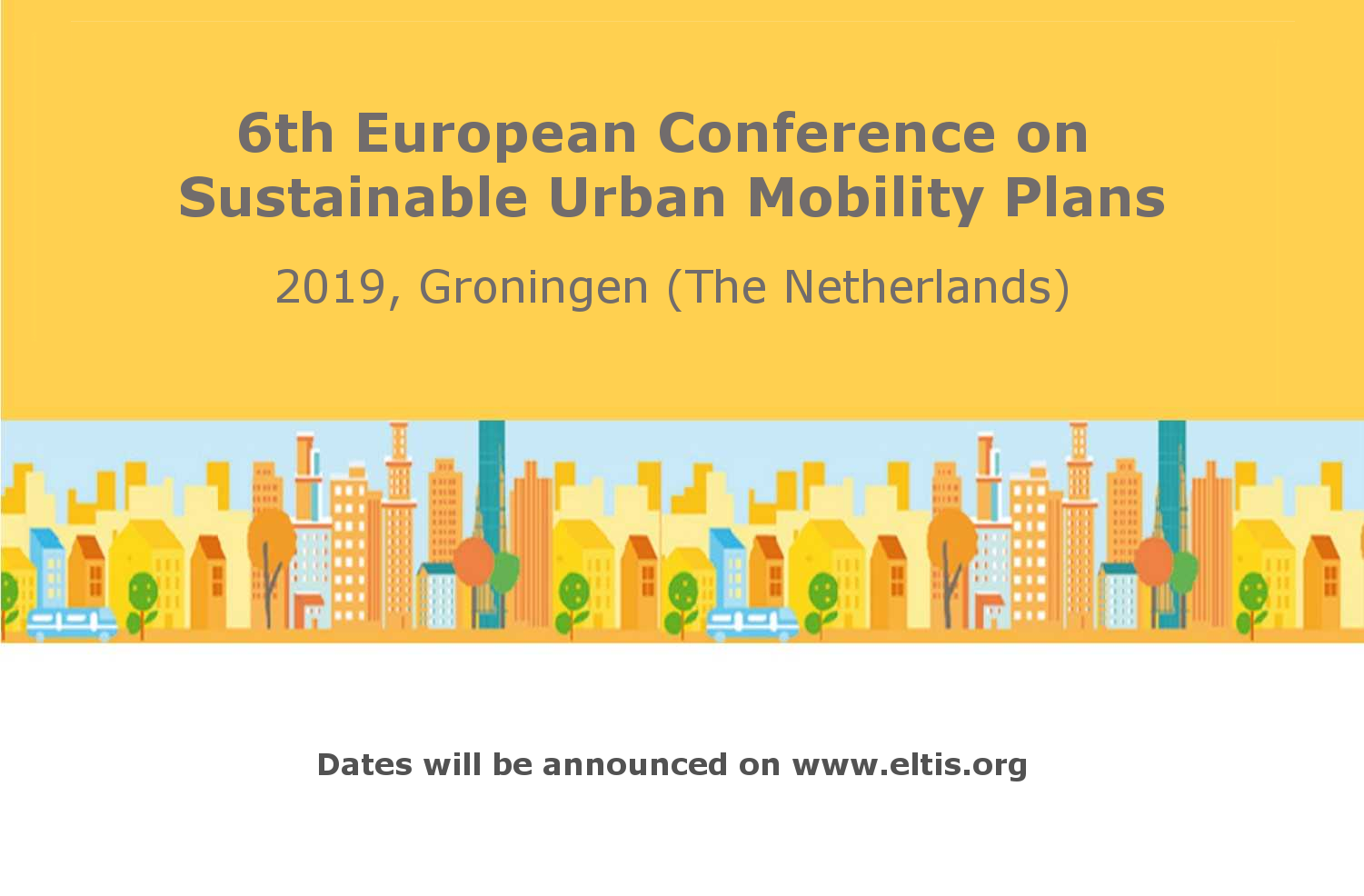 6th European Conference on Sustainable Urban Mobility Plans