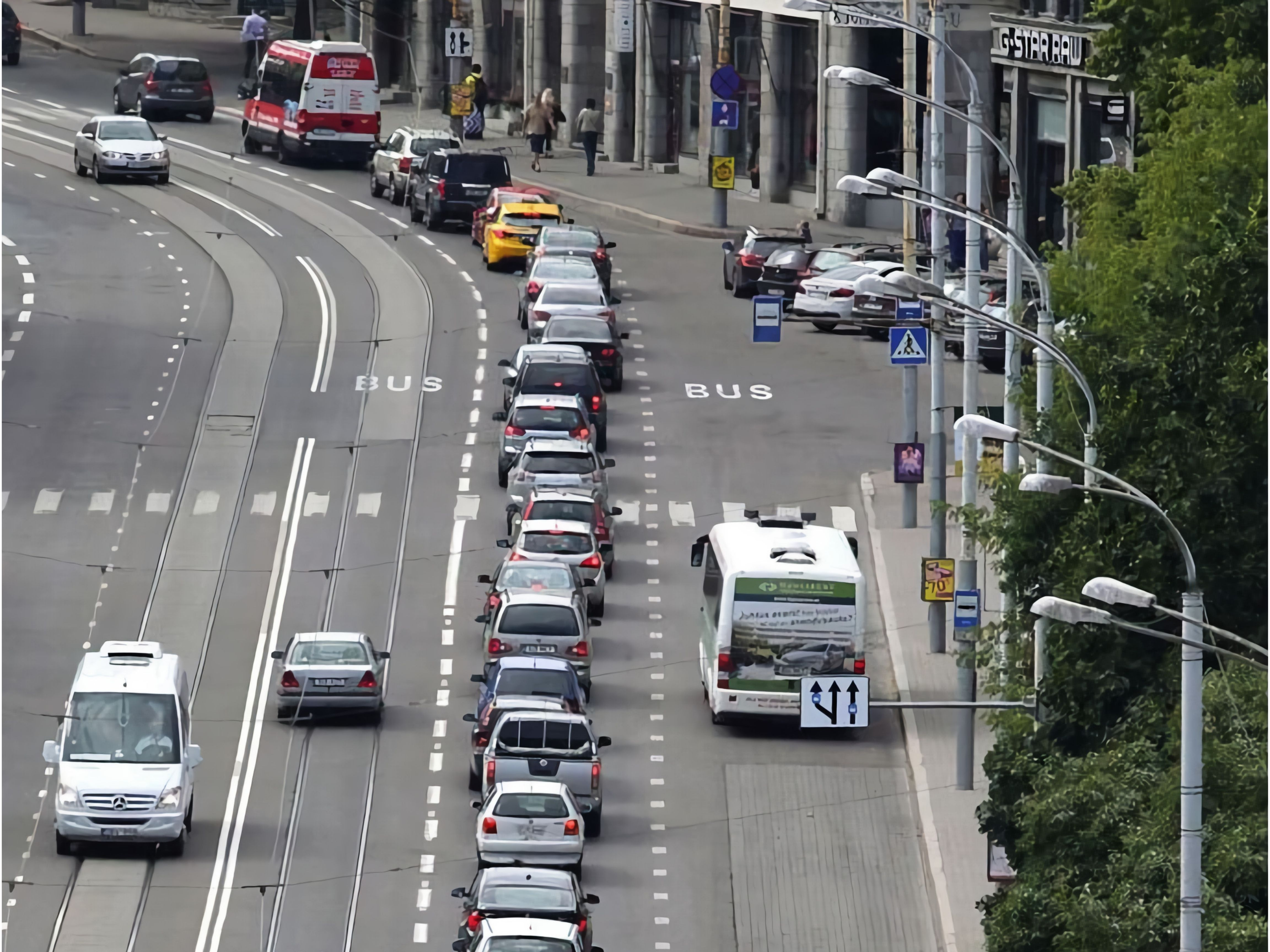 Congestion caused by ineffective traffic management