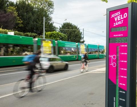 Multimodality in Basel - Picture © Senso, Joel Cartier, Andreas Zimmermann, Bau- und Verkehrsdepartement Basel-Stadt