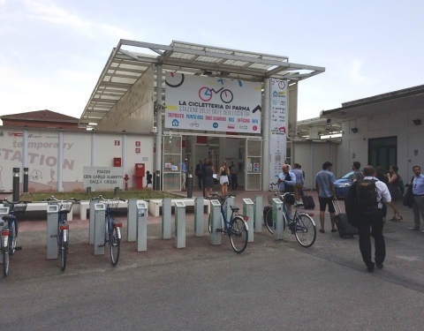 Parma Tram Station