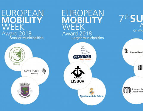 European Commission announces finalists for 2018 mobility awards