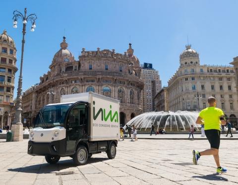 INVIA electric vehicle