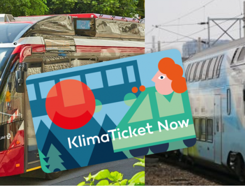 """new """"climate ticket""""  in Austria"""
