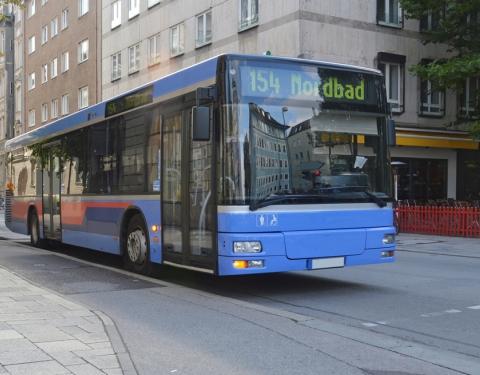 German Bus - passenger transport 515827402
