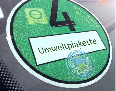German environmental badge (Umweltplakette)