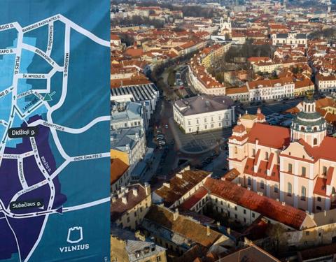 Vilnius traffic plan