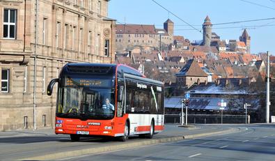 vag nuremberg introduces ultracap hybrid buses germany. Black Bedroom Furniture Sets. Home Design Ideas