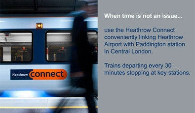 The heathrow connect train service london uk eltis heathrow commuter provides sustainable solutions for all 76000 staff at heathrow working for 362 different companies one solution is the heathrow connect sciox Choice Image