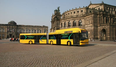 the dresden transport company germany tests first series produced hybrid bus eltis. Black Bedroom Furniture Sets. Home Design Ideas