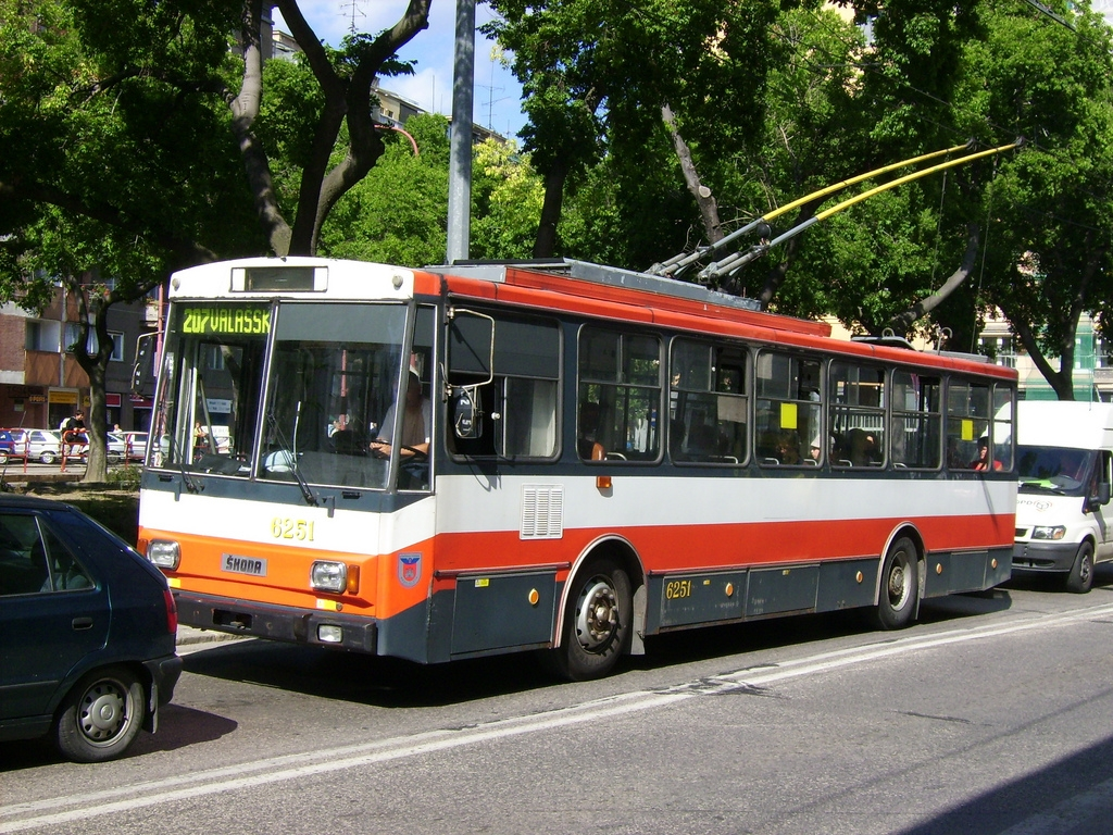 Trolleybus in Bratislava