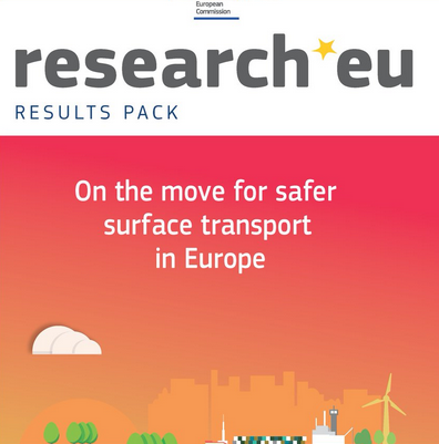 On the move for safer surface transport in Europe cover