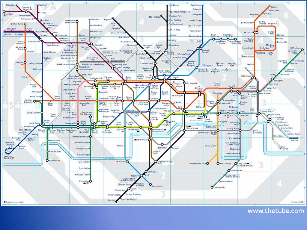 New London Underground map for passengers with conditions such as