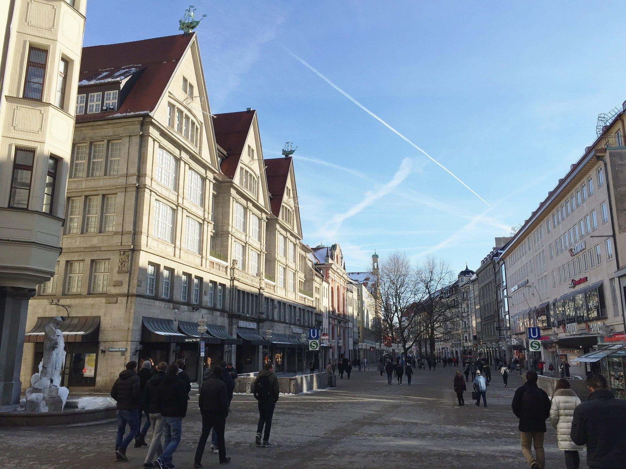 Munich public street