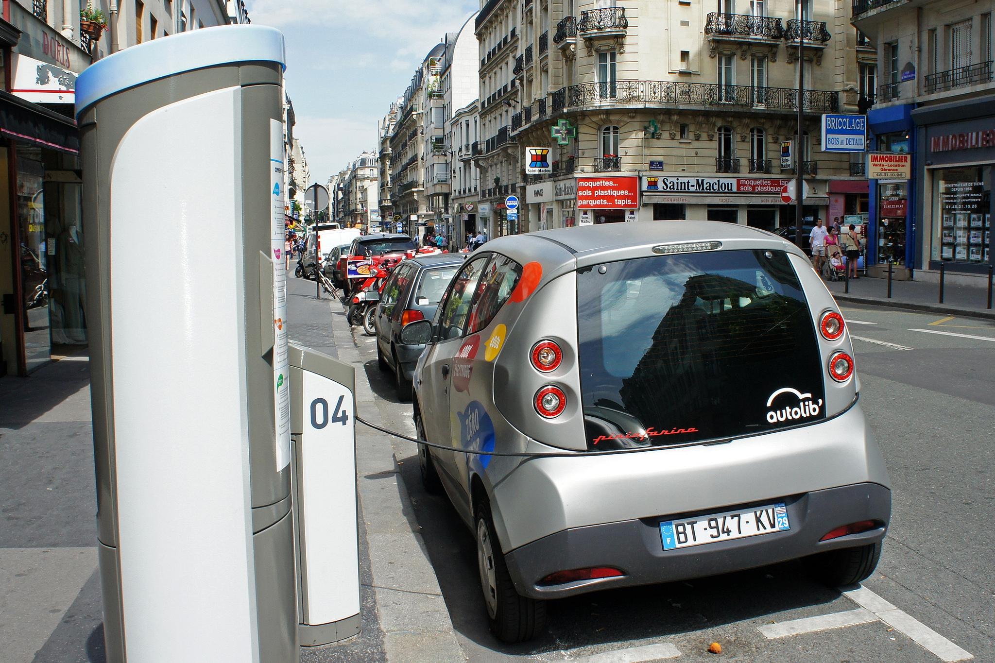 Carsharing scheme - Paris