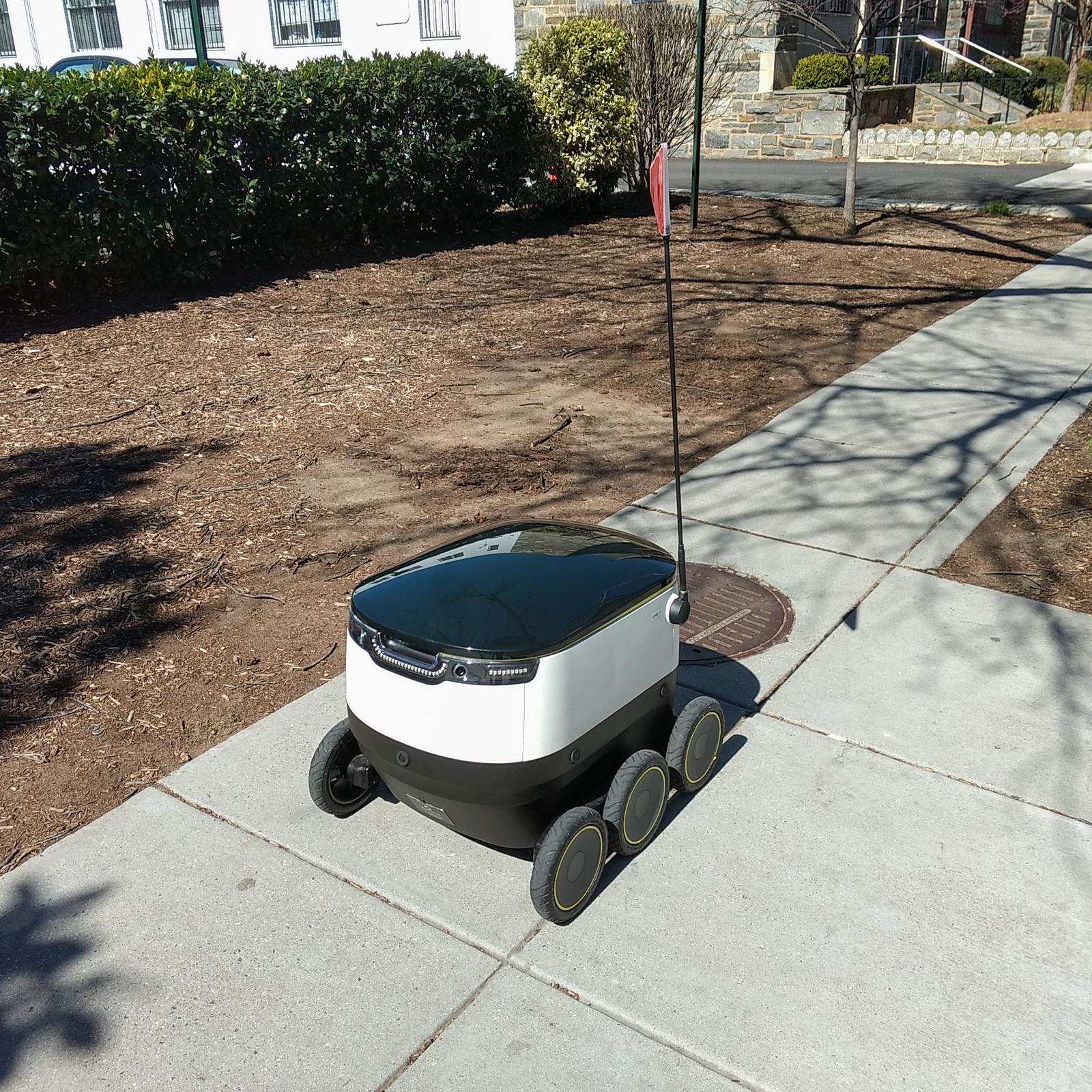 Startship Delivery Robot