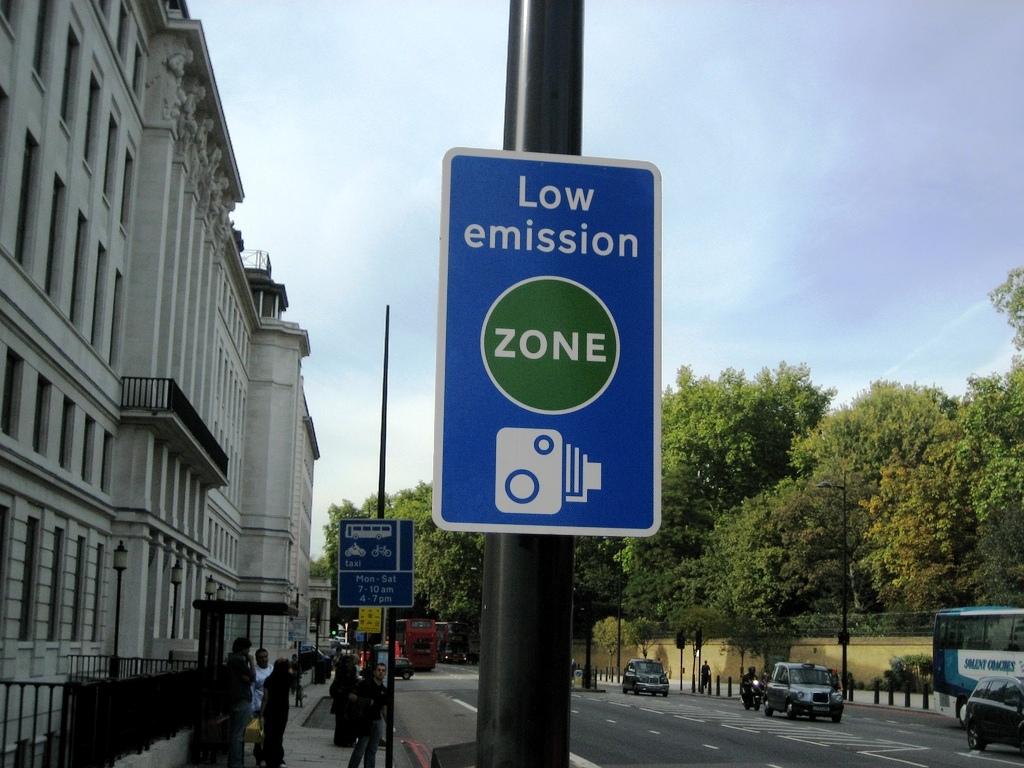 Urban Access Regulations Signs - London