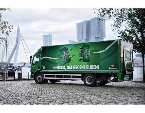 Image of Heineken branded EFV used in the project
