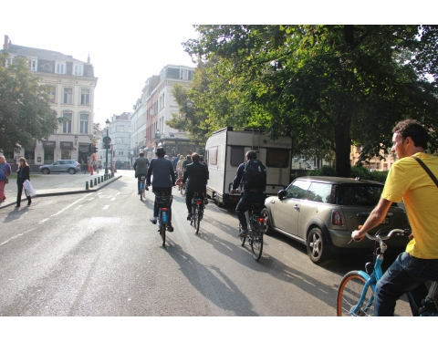 Brussels Cycling Tour