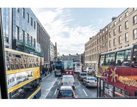 Dublin bus view