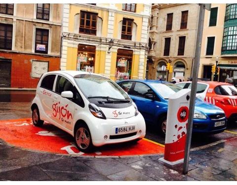 Electric car - Gijon