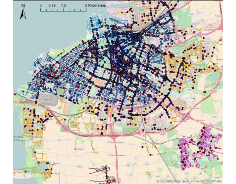 Inventory of traffic injuries in Malmö in different speed zones (source: VTI)