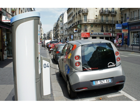 Carsharing scheme - Paris