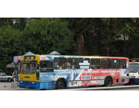 Polish Jelcz bus