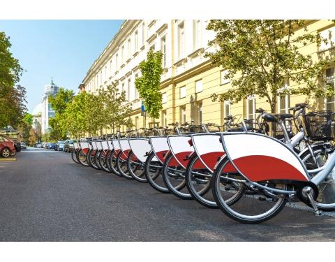 shared e-bikes in Gdańsk - Gdynia - Sopot Metropolitan Area