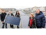 PV system on the roof of a metro station (Wiener Linien)