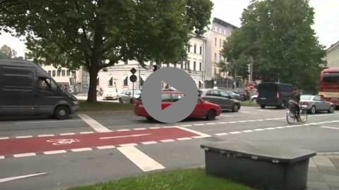 Embedded thumbnail for Transforming of car tracks into bicycle lanes