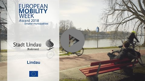 Embedded thumbnail for Lindau, winner of the EUROPEAN MOBILITY WEEK Award 2018 for smaller municipalities