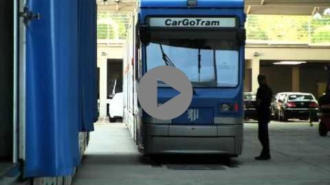 Embedded thumbnail for CarGoTram Dresden (Germany) - How tramcars avoid truck transfers