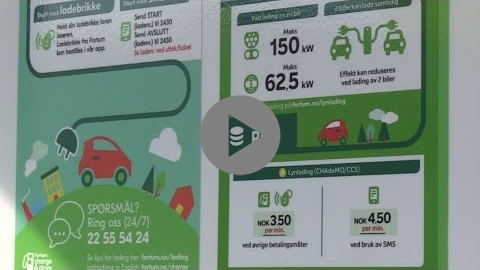 Embedded thumbnail for E-mobility and parking in Trondheim