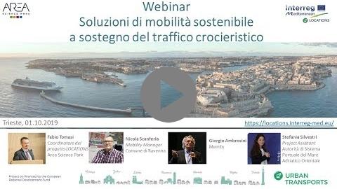 Embedded thumbnail for Offering sustainable mobility services to cruise ship passengers in Italy - Offrire servizi di mobilità sostenibile per i passeggeri delle navi da crociera in Italia