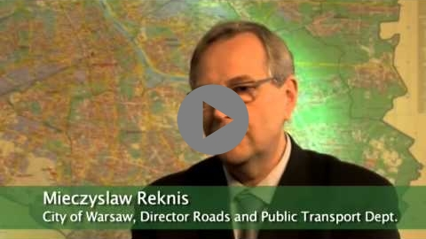 Embedded thumbnail for Focus on walking and cycling in Warsaw