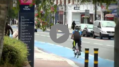 Embedded thumbnail for London's Barclays Cycle Superhighways (UK)