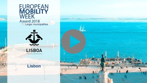 Embedded thumbnail for Lisbon, winner of the EUROPEAN MOBILITY WEEK Award 2018 for larger municipalities