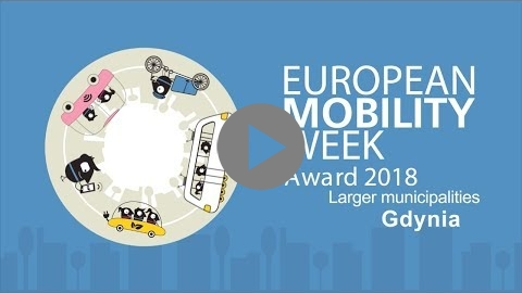 Embedded thumbnail for Gdynia, finalist of the EUROPEAN MOBILITY WEEK Award 2018 for larger municipalities