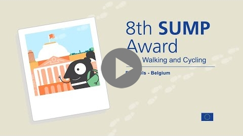 Embedded thumbnail for Brussels, winner of the 8th SUMP Award!