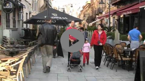 Embedded thumbnail for Bucharest - Pedestrianisation of the city centre