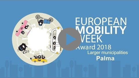 Embedded thumbnail for Palma, finalist of the EUROPEAN MOBILITY WEEK Award 2018 for larger municipalities